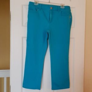 Chico's Turquoise Jeans